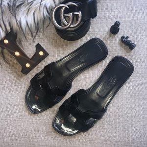 Authentic Hermès Oran Sandals Slides Mules Shoes
